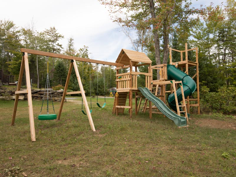 Custom Design Cedar Wood And Redwood Playsets Made In Usa