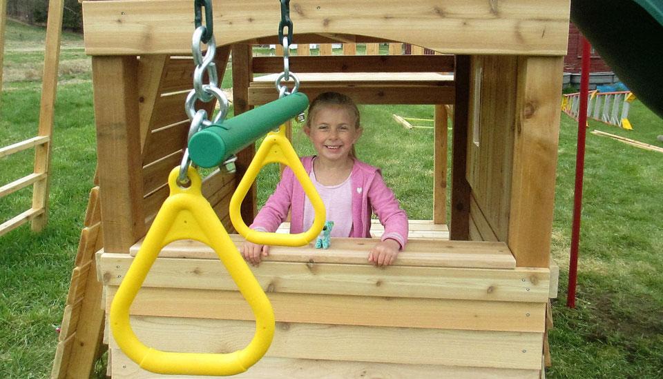 Cedar Swing Playsets & Swing Sets